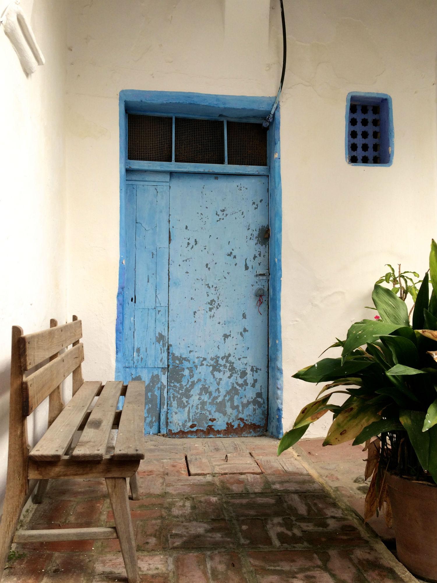 puerta azul tarifa